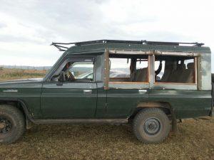 Kenya safari bil med bra fotoplatser, Masi Mara.