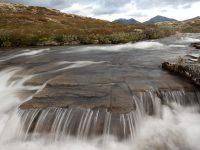 Litet vattenfall Storsula.