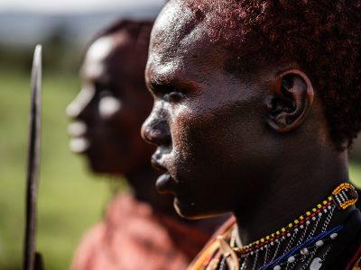 Masai krigare.