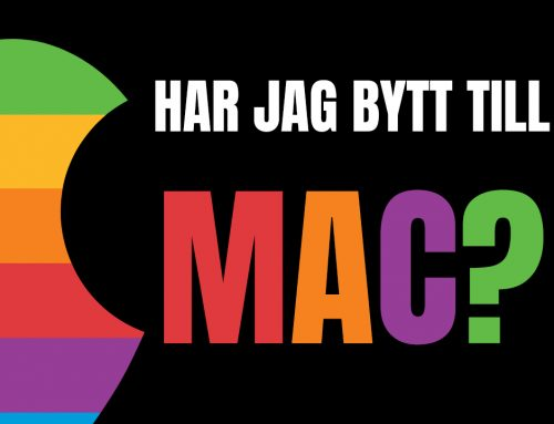 Har jag bytt från PC till Mac? (Macbook Air M1 magi)