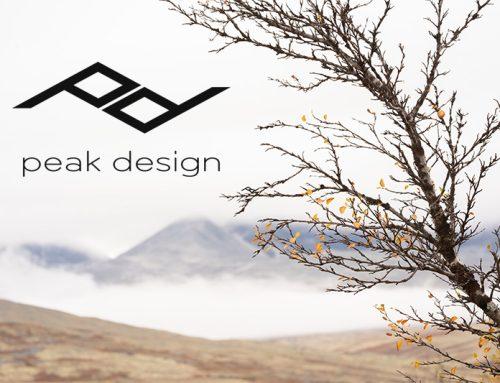 Mina kameraremmar – Peak Design.